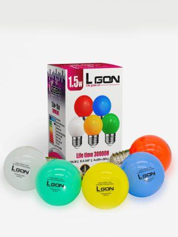 1.5w 120LM Light color Bulb